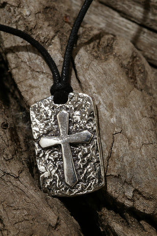 Have a Little Faith Cross Pendant ---- Silver