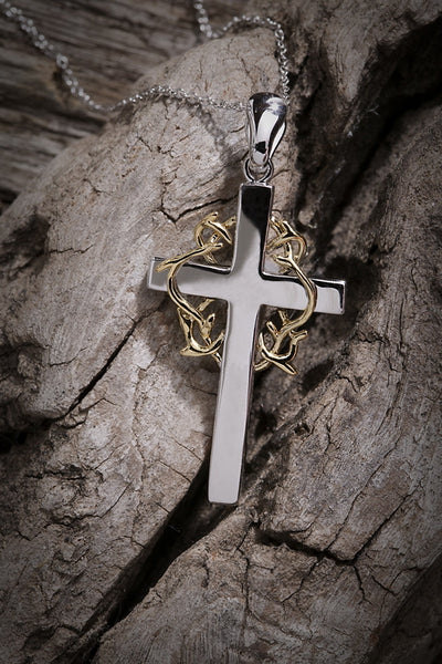 No Greater Love Cross Pendant