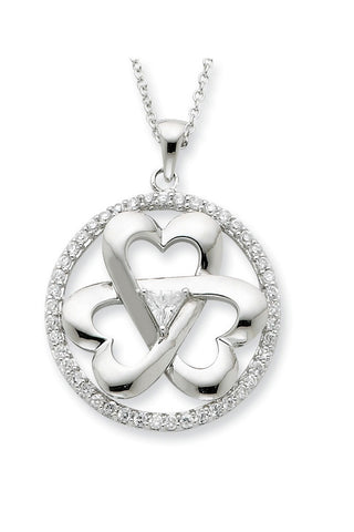 Legacy of Love Sterling Silver Pendant