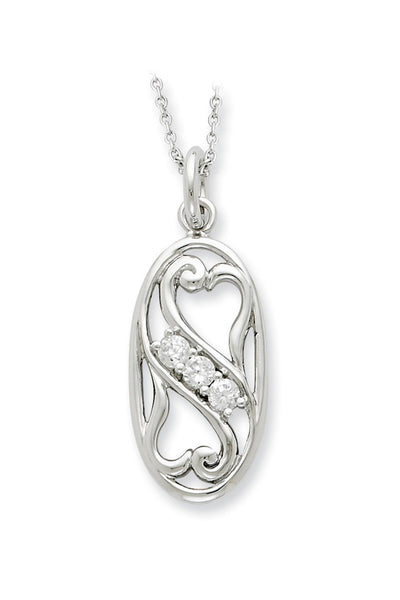 My BFF (Best Friend Forever) Sterling Silver Pendant