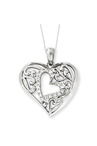 Forever in My Heart (A Mother And A Child's Love) Pendant