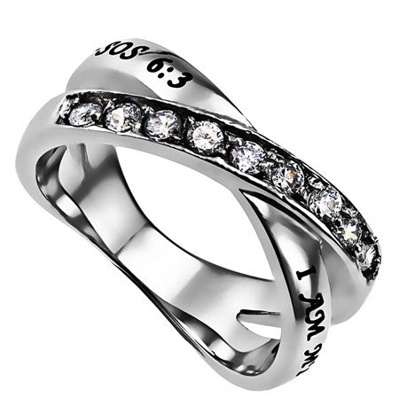 Radiance CZ Wrap Scripture Ring-Beloved