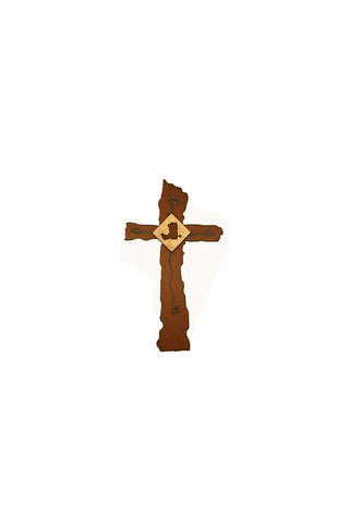 Grounded Joy Metal Wall Cross