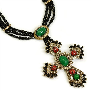 British Regalia Cross Necklace