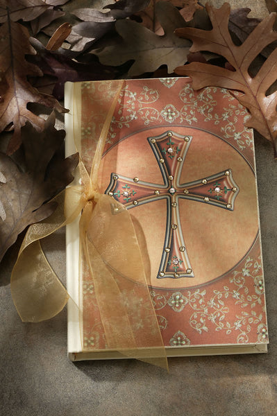 Cross Jeweled Journal with Swarovski Crystals RETIRED