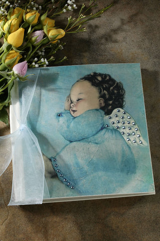 Blue Angel Baby Journal