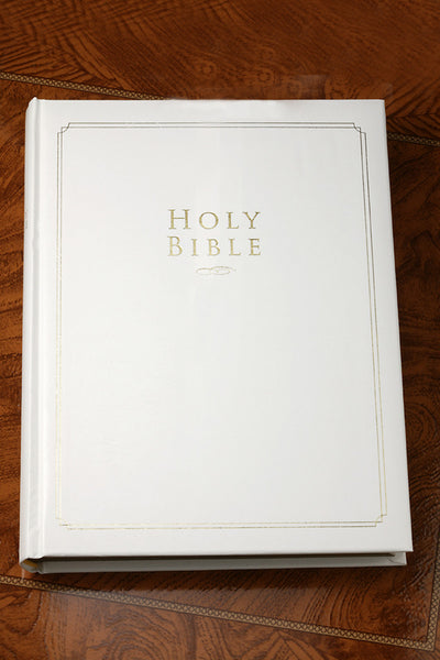 White Family Keepsake Bible NIV