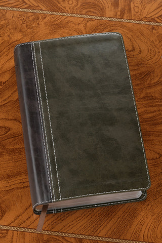 Life Application Study Bible - NIV Bark Dark Moss - Limited Quantities Available
