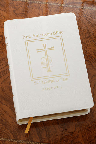 NABRE St Joseph Deluxe Gift Bible-White