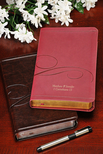 Family Life Marriage Bible NKJV-Burgundy or Brown