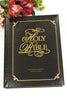 Family Faith & Values Large Print KJV Bonded Leather-Black