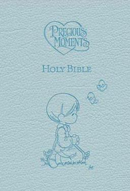 Precious Moments Holy Bible -ICB  Blue