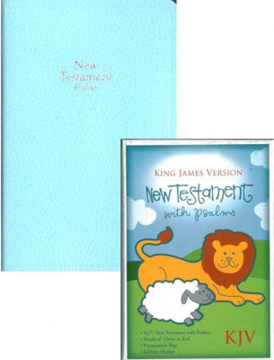 Blue Baby Bible Tiny Pocket  New Testament-KJV