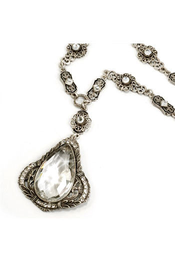 Tear Drop Crystal Pendant