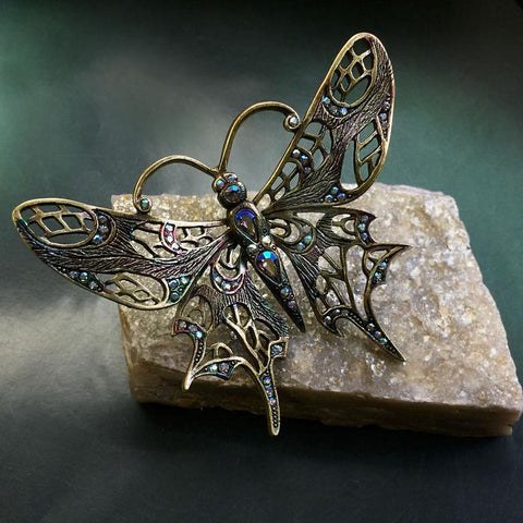 Art Nouveau Butterfly Pin