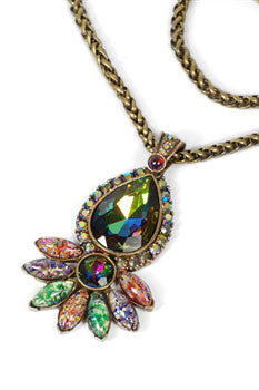 Choice Necklace; Vintage Opal or Vintage Peacock