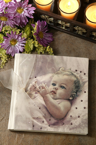 Gorgeous Baby Photo Album Pink