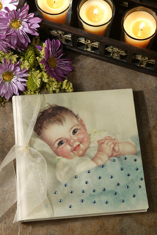 Pick me up Baby Photo Album Blue