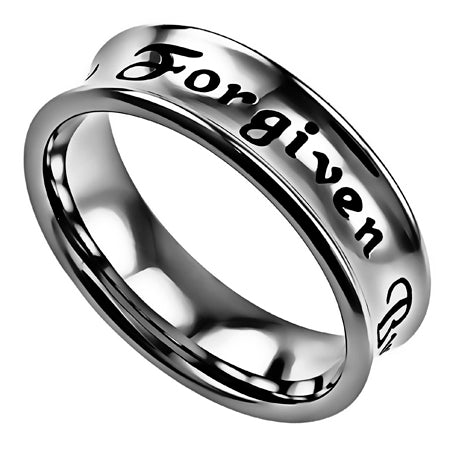 Truth Band Ring-Forgiven By God