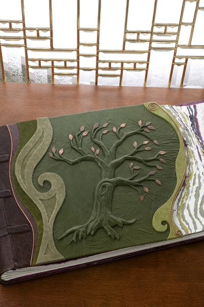 Handbound Tree of Life Album