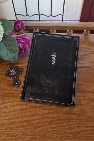 The Doctor's Bonded Leather Compact Bible-CSB Black