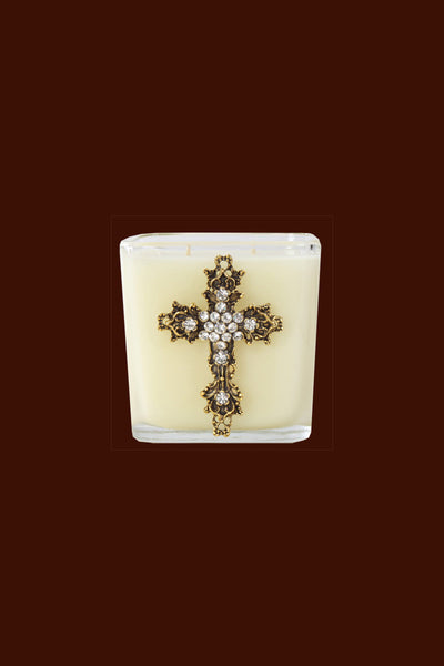 Cross Candle - 20oz Faith