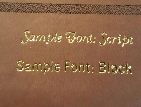 KJV Large Print Leather Study Bible Bonded Leather - Burgundy