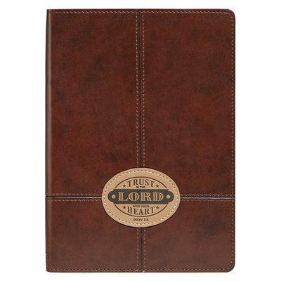 Trust in the Lord Journal - Brown - Limited Quantities Available