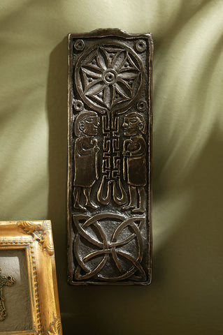 Bronze Celtic Cross Of Journeys & Meetings ;Co. Donegal