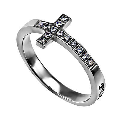 Ring Sideways Cross Purity