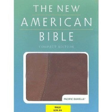 ON SALE The New American Bible Brown/Tan 40% off