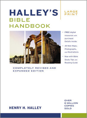 Halley's Bible Handbook, Large Print  Completely Revised And Expanded Edition