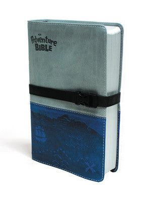 Adventure Bible, NIV-Blue/Grey (Pic on Left Side)