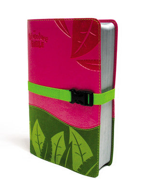 Pink/Green Adventure Bible, NIV-Pink/Green (Pictured on Right Side)