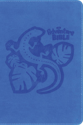 NKJV Adventure Bible-Blue Jungle Safari
