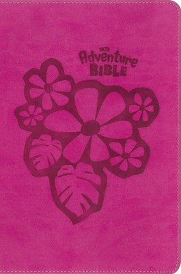 NKJV Adventure Bible-Pink Jungle Safari