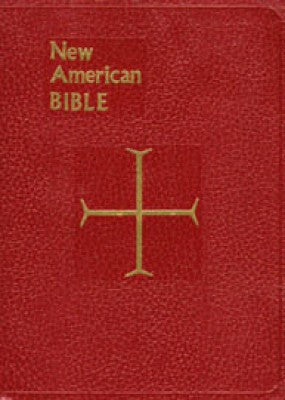 NAB St Joseph Gift Bible - Red