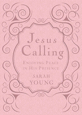 Jesus Calling - Deluxe Edition Pink Bible Cover by Sarah Young
