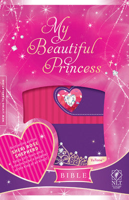 My Beautiful Princess Bible NLT Crown