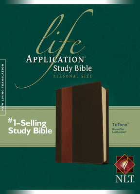 Life Application Study Bible NLT, Personal Size, TuTone