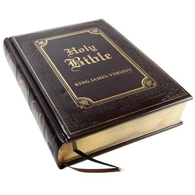 Holy Bible Family Edition KJV-Brown