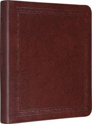 ESV Journaling Bible (Mocha, Threshold Design)