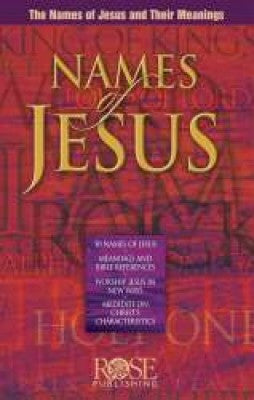 Names of Jesus pamplet