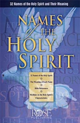 Names of the Holy Spirit pamplet