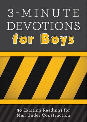 ON SALE 3-Minute Devotions for Boys
