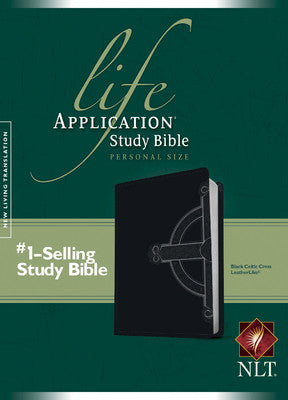Life Application Study Bible NLT, Personal Size, TuTone (Celtic Cross Edition)