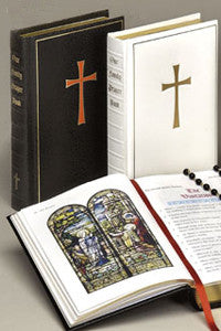 Our Family Prayer Book Choice of White or Black