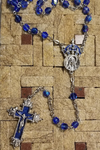 King of Kings Rosary-Sapphire