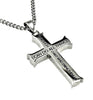 Silver Strength Iron Cross Philippians 4:13