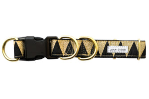 Floyd Collar - Black & Gold